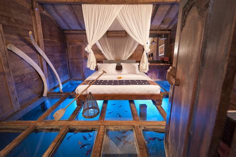 The Glass Bottom Bedroom In Bali