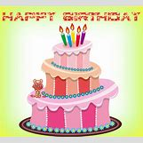 Happy Birthday Cakes With Candles For Best Friend   550 x 500 animatedgif 1019kB