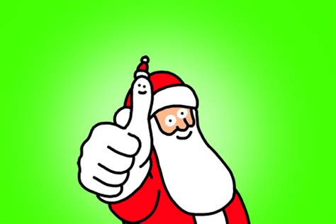 santa thumbs up gif by giphy studios originals find
