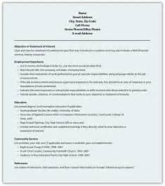 Resume Sle Templates 10 Best Template Collection Resume Styles Writing Resume Sle