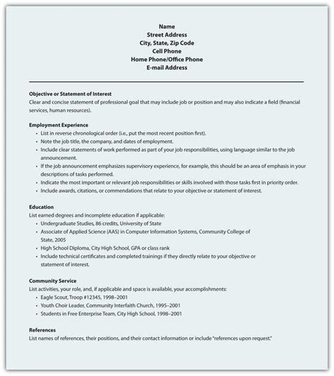 Best Official Resume Format by 10 Best Template Collection Resume Styles Writing Resume