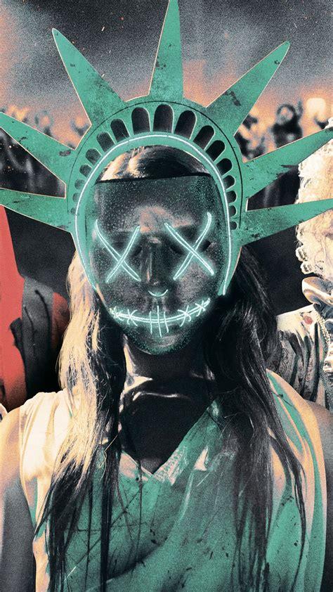 wallpaper  purge election year mask  movies