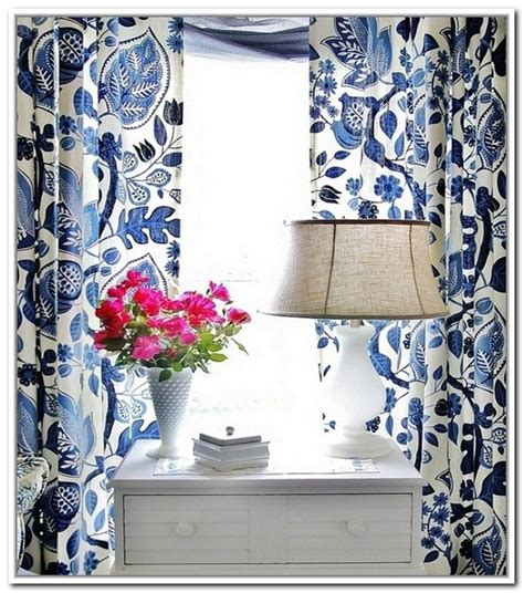Navy Blue And White Drapes - best 25 blue and white curtains ideas on navy