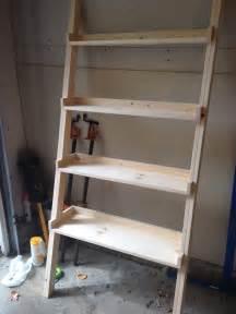 woodworking plans ladder shelf woodproject