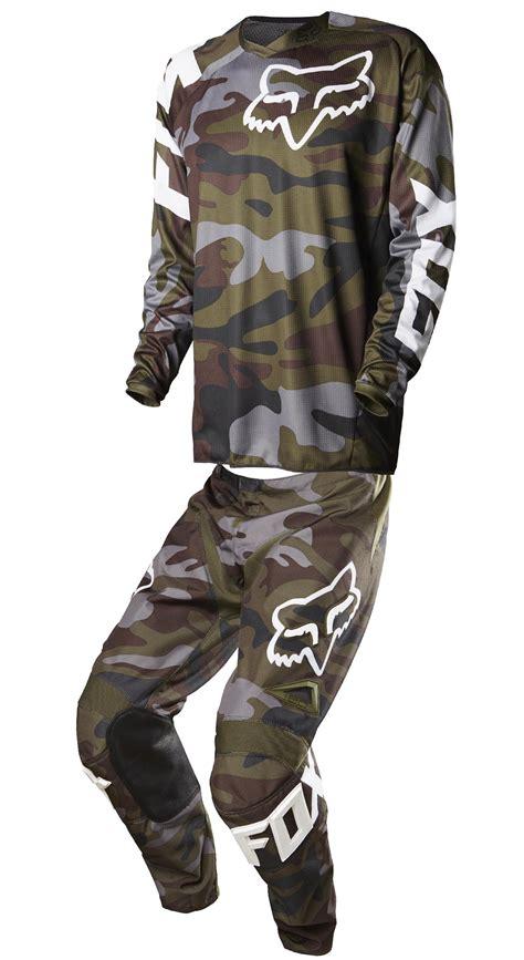 camo motocross fox racing 180 green camo dirt bike jersey pants mx atv