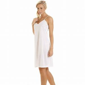 new ladies camille lingerie sexy full slip womens classic With robe chemise courte