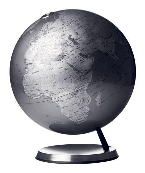 bureau louise globe terrestre sur socle sur socle gris poussière menu