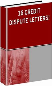 16 credit dispute letters ebook audio books business With instant credit repair letters