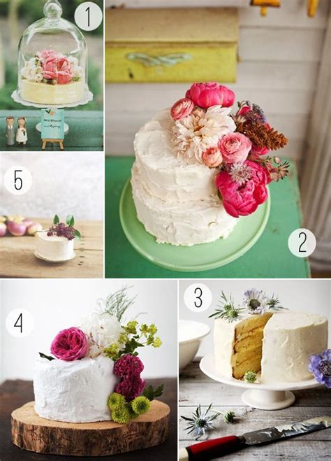 Simple Wedding Cakes With Fresh Flowers Would Love