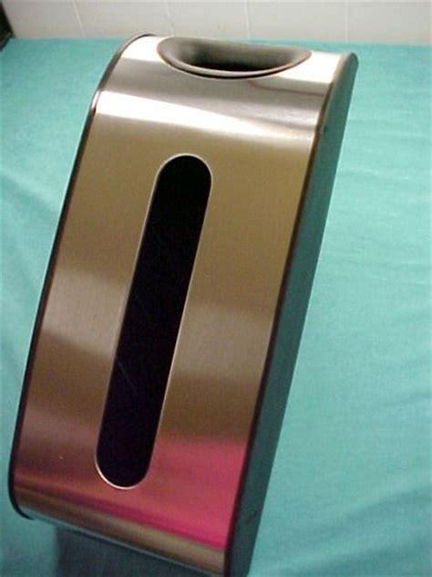 stainless steel wall mount plastic bag holder dispenser