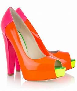 1000 ideas about Neon Shoes on Pinterest