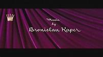 Bronislau Kaper - The Swan (Opening Titles) - YouTube