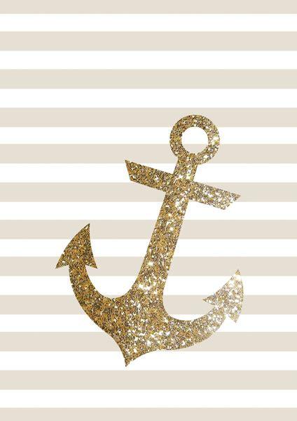 glitter anchor wallpaper wallpapersafari