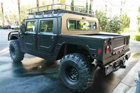 Buy Used Rare 1998 Hummer H1 Hard Top Pick Up Only 48k