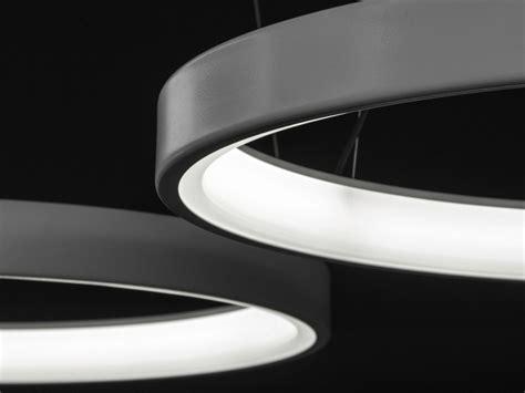 luminaria pendente led  luz direta lunaop  martinelli luce design emiliana martinelli