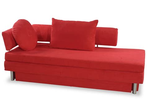red sleeper sofa queen nubo red microfiber queen size sofa bed by at home usa