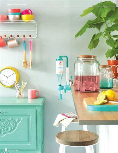 colorful kitchen accessories 17 colorful kitchen designs that would cheer up any home 2336