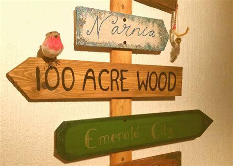The Magical Wonderland Sign Post