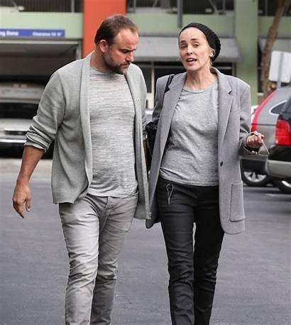 Sharon Stone Boyfriend Date David Los Leather