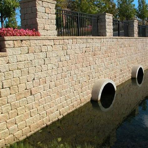 Durahold Retaining Wall by Retaining Walls Unilock Caddetails