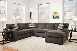fenella 2 piece right facing sectional smoke levin With levin furniture living room chairs