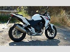 HONDA CB500F AKRAPOVIC SOUND YouTube