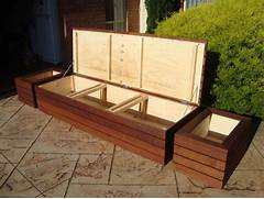 Garden Bench Seating by Outdoor Seating With Storage Outdoor Storage Bench Seat Planter Boxes Amp