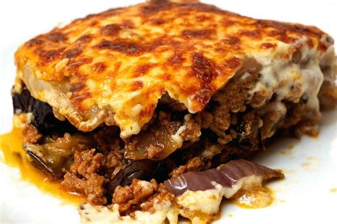 moussaka recipe greek moussaka recipe with yogurt a greek food recipe