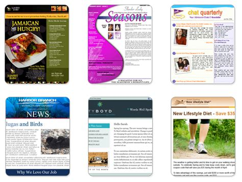 create  custom newsletter template  benchmark