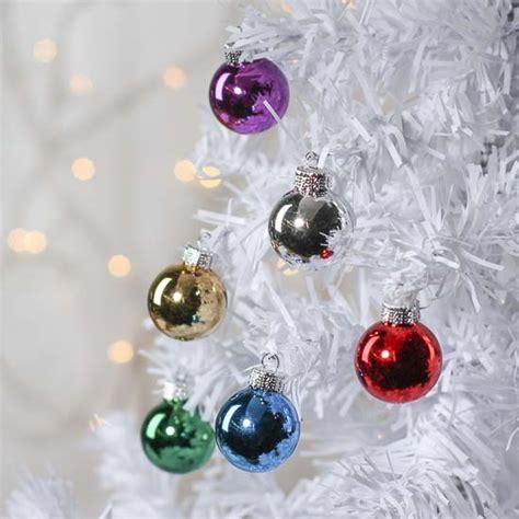 miniature glass ball ornaments christmas miniatures