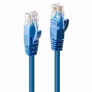 1m Cat6 U  Utp Gigabit Network Cable  Blue