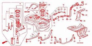 Fuel Tank  2 0l   2 4l  For Honda Cars Cr