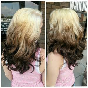 Reverse Blonde Ombre Hair Color