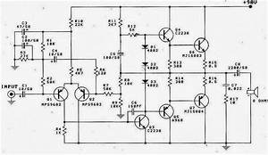 Otl 100w Power Amplifier Diagram