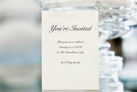 Ideas For Wedding Invitation Wording