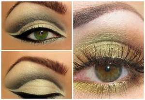 How to apply eye makeup for hazel green eyes