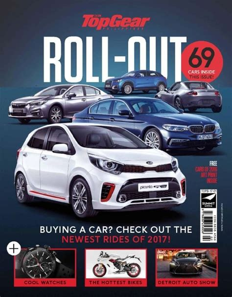 Top Gear Philippines by Top Gear Philippines Roll Out Issue 2017