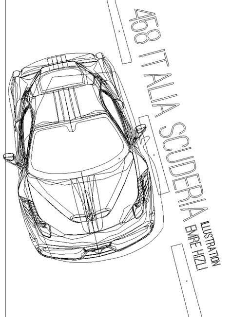 How to draw the @ferrari logo#ferrari#lamborghini#porsche#bugatti#mclarenwhat you'll need for the ferrari emblem:pencileraseryellow markerblack markerred. Ferrari 458 Italia Scuderia Draw + Illustration on Behance