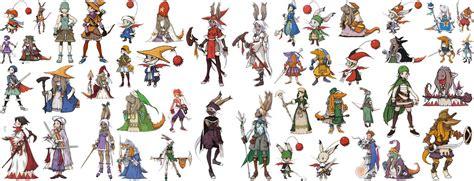 final fantasy tactics advance jobs   final fantasy