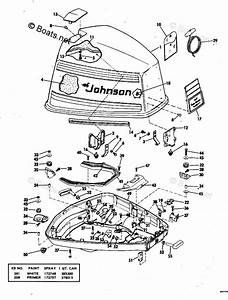 Johnson Outboard Parts By Year 1978 Oem Parts Diagram For Motor Cover
