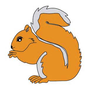 Cartoon Squirrel Clip Art