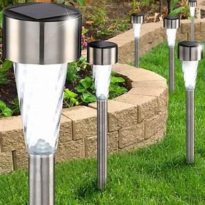 Led Lampen Außenbereich : 6er set led solarleuchten f r den au enbereich lampen m bel au enleuchten steckleuchten ~ Buech-reservation.com Haus und Dekorationen