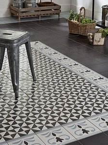 Parquet Imitation Carreaux De Ciment : carrelage carreau aspect ciment bordure valvane 20 20 ~ Farleysfitness.com Idées de Décoration