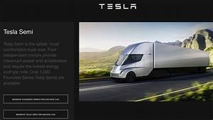 Tesla Semi Reservations in Canada Go Live, Range from ...