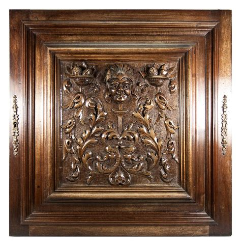cabinet doors san marcos ca opulent hand carved antique cabinet door plaque in neo