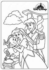 Coloring Pages Ariel Eric Prince Printable sketch template