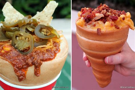 disney cuisine disney now offering mac and cheese bread cones because
