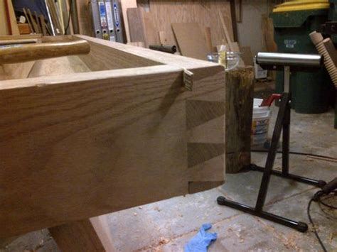 workbench build splayed leg french bench  final top