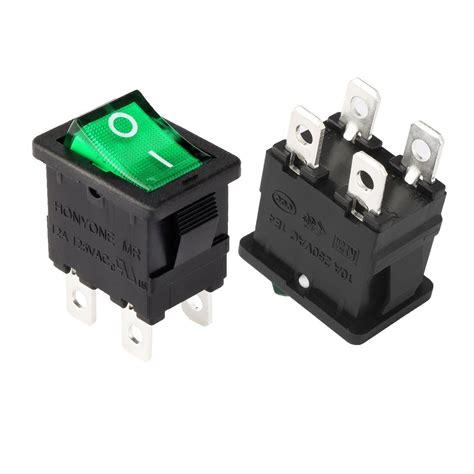 Wiring Pin Dpst Illuminated Off Rocker Switch