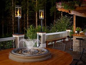 Outdoor gas lamps and lighting tempest torch for Outdoor propane lights for sale